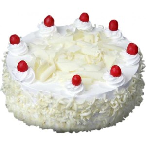 White Forest Fresh Cream Cake